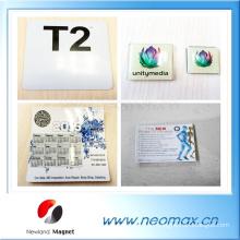 China fabricante imanes de refrigerador de encargo baratos / imanes de nevera de acrílico en blanco