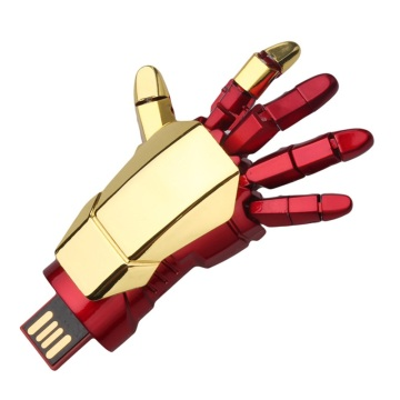 Fashion Iron Man Hand Palm-LED Usb Flash Drive