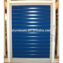 Ventana de obturador eléctrico de aluminio