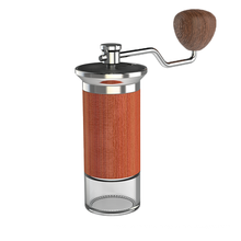 4 Bearing Positioning Portable Hand Grinder Machine Mini Coffee Mill Grinder Manual Coffee Grinder Stainless Steel Burr