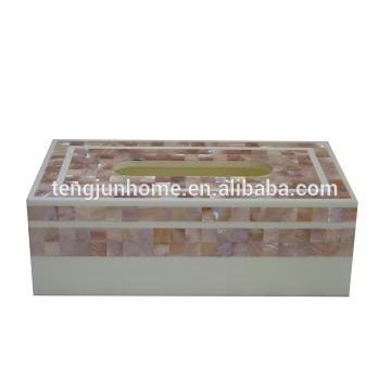 Pink Shell Rechteck Tissue Box Box Gesichts-Gewebe in Dubai