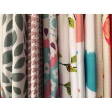 Tissu de dispersion simple 100% polyester pour drap de lit
