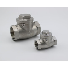 Stainless Steel Female Thread Swing Check Valve