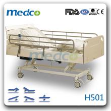 H501 Cinq fonctions lit de soins hospitaliers