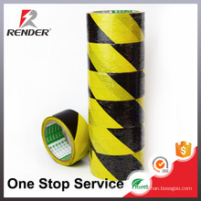 PVC Hazard floor warning caution tape/underground warning tape