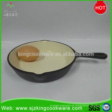 Mini frigideira de ovo de ferro fundido popular