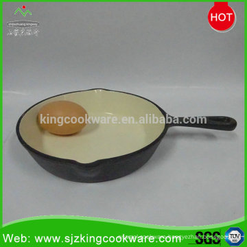 Popular mini cast iron egg fry pan