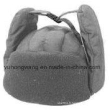Chapeau / casquette d'hiver chaud avec fourrure douce