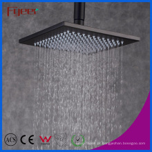 Fyeer Classic Style 8 Polegadas Quadrado Preto Rainfall Shower Head