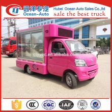 Proveedor de camiones de publicidad de pantalla móvil al aire libre