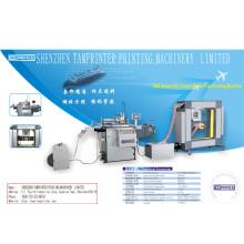 Tam-Zm automatische Marke Label bahnförmigen Siebdruck Maschine mit IR-Trockner