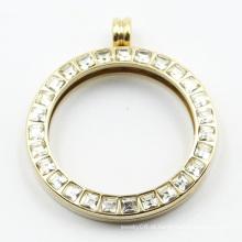 Medalhão de moda de aço inoxidável 316L de alta qualidade pingente para jóias de presente
