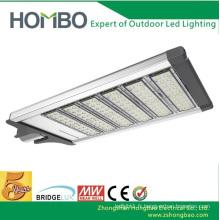 Haute qualité 240W ~ 270W conduit la lumière de rue Bridgelux super brillant blanc cool conduit lampe extérieure 5 ans de garantie