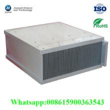De aluminio de fundición a presión personalizada de aire para máquinas radiador