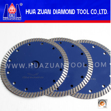 Hot Press Blue 105mm-230mm Turbo Saw Blade Dry Turbo Saw Blade Used on Angle Grinder