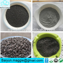 Brown/white/black fused alumina different size aluminium oxide grains