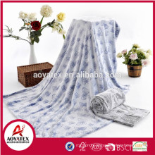 alta qualidade super macio novo padrão de flanela em relevo cobertor de lã