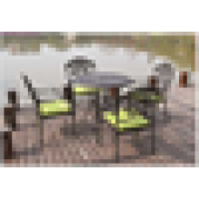 cast aluminum outdoor furniture chairs and table set