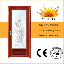 Hot Sales Toilet Glass Aluminum Doors (SC-AAD045)