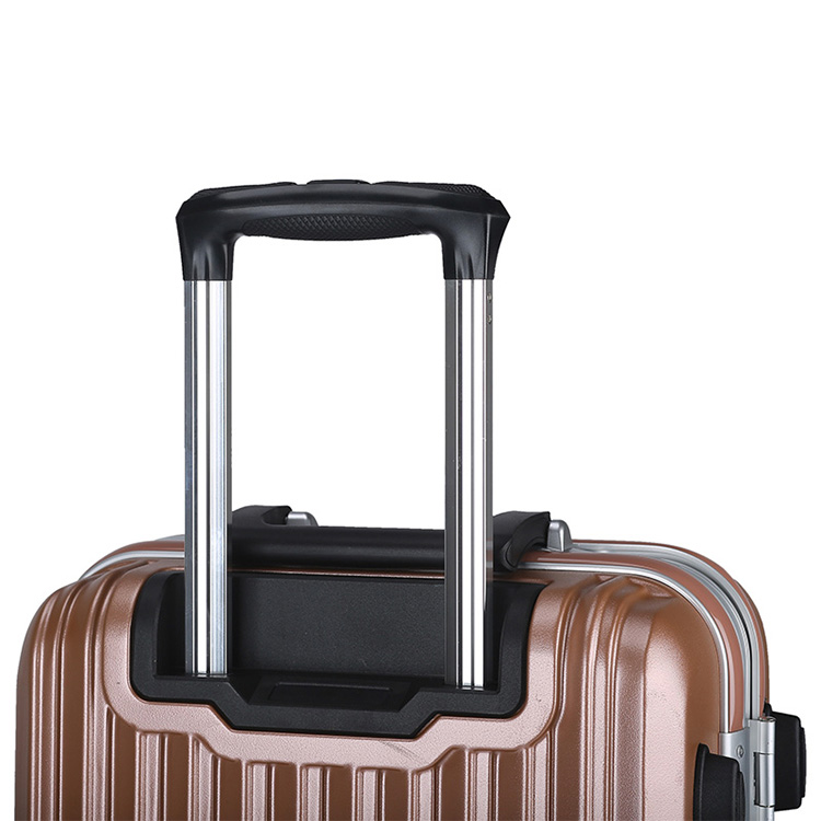 Aluminum frame hard ABS shell luggage13