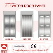 Panneau de porte pour la décoration de cabine d'ascenseur (SN-DP-301)