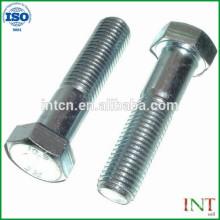 Mecánica de alta precisión de piezas no estándar aluminio customed tornillos de metal