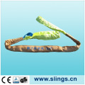 100% Polyester Round Sling with Safety Factor 7: 1