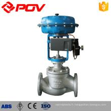 Valves de contrôle supérieures de la soupape de commande pneumatique de l'eau