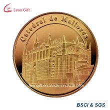 Défi/Mark Commemorative Coin de pièce en métal doré