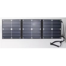 2017 Fábrica de atacado 40W flexível portátil dobrável Sunpower mini painel solar