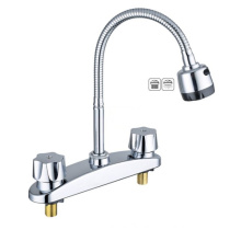 Hot selling Contemporary deck mounted kitchen faucet tap, high quality price faucet kitchen