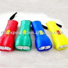 BT-1017 mini lampe de poche en plastique