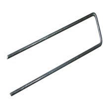 Galvanized U type sod nail lawn nail factory