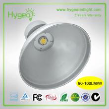 Luminária exterior de alta luminosidade 100W 3 anos de garantia levou alta baía retrofit IP65