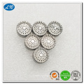 Stainless steel cnc micro machining condenser microphone cartridge parts