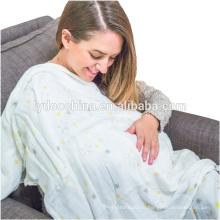 """100% органического хлопка Муслин одеяло завернуть 47x47"""" детское одеяло"""