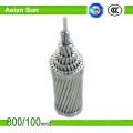 BS215 / DIN48204 Aluminiumleiter heiß eingetauchter galvanisierter Stahl verstärkte ACSR-Draht