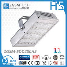 200W IP66 LED Tunnel Light with Philps LED Meanwell Driver