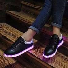 2016 New Style Glow LED Shoes For Party