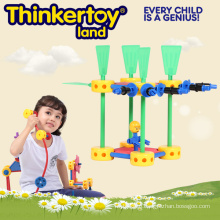 DIY Plastic Education Toy for Child DIY Plastic Building Blocks