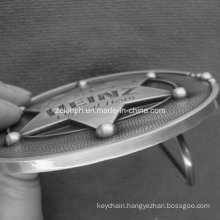 Custom High Quality 3D Zinc Alloy Antique Nickel Belt Buckel for Souvenirs
