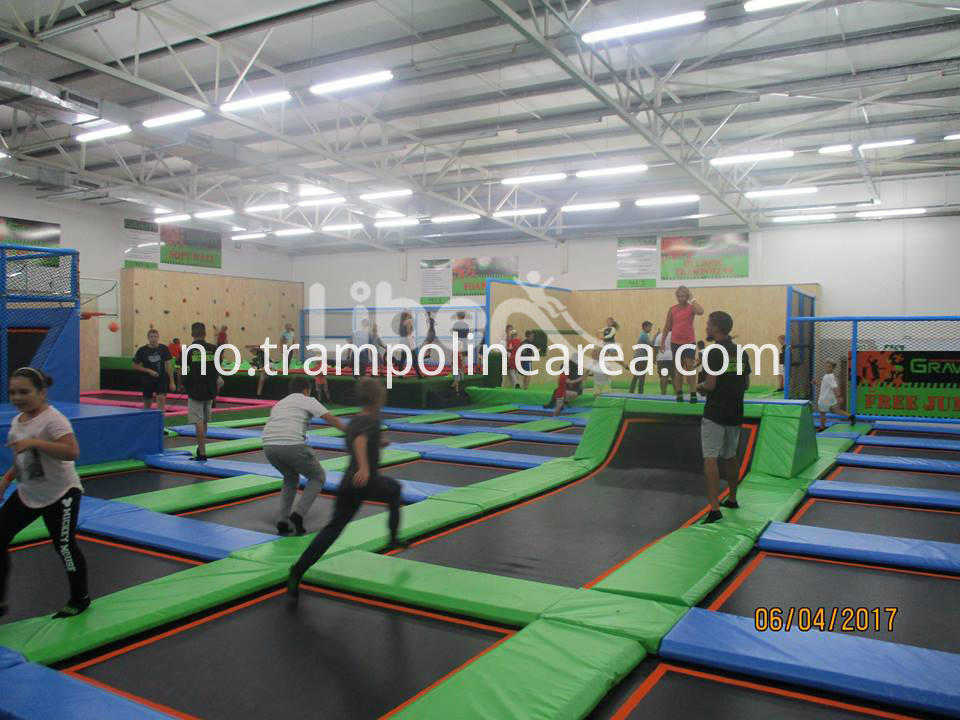 Commercial indoor trampoline Park
