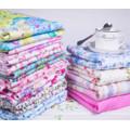 100% Cotton beautiful printing fabric for bedding set fabric