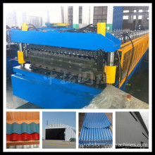 Steel+Structure+Corrugated+Roof+Panel+Manufacturing+Line
