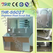 Aço inoxidável uso cirúrgico Hand Sink (THR-SS027)