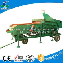 Rapeseed soybean large cleaner sieve machine