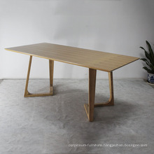 Modern Design Dining Room Solid Wood Dining Table