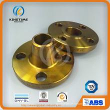 Flange forjada A105n da flange do pescoço da solda do aço carbono de ASME B16.5 (KT0311)