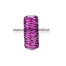 fil à broder 100 % rayonne en petit tube