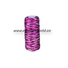 100% rayon embroidery thread in small tube